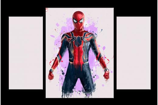 Модульная картина Человек-паук